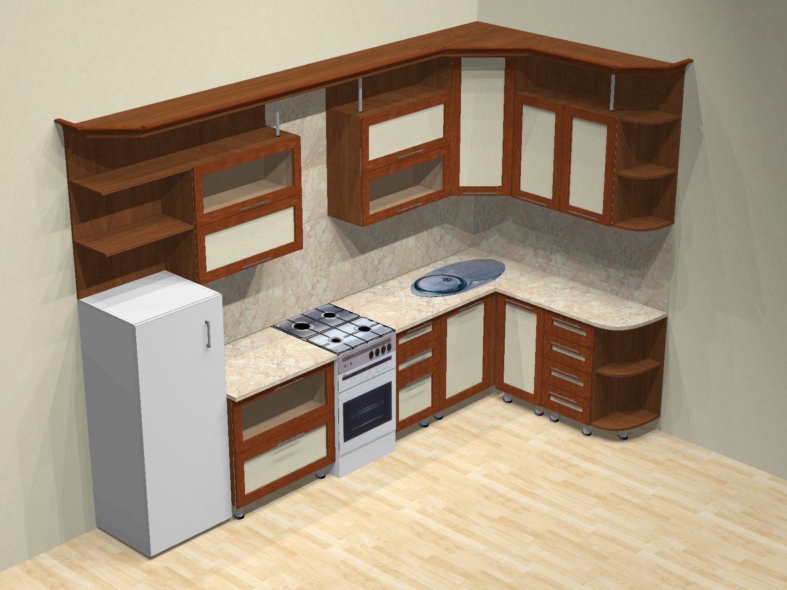 Кухонный гарнитур своими руками с чертежами и фото